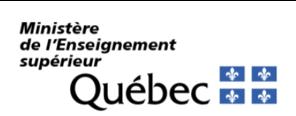 Ministère de l'ÉEnseignement Supérieur du Québec